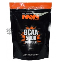 BCAA 5000 powder (300 гр) Muscle World Nutrition