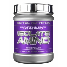 Аминокислота Scitec Nutrition ISOLATE AMINO 250 кап