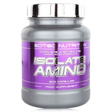 Аминокислота Scitec Nutrition ISOLATE AMINO 500 кап